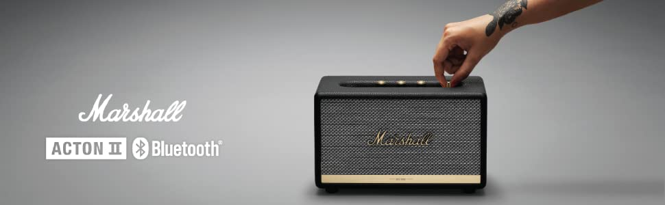 marshall, acton2, actonII, acton bluetooth, bluetooth speaker, speaker, marshall speaker