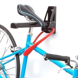 Feedback Sports Velo Wall Post Bicycle Storage Rack Black