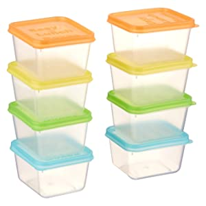 EasyLunchboxes Mini Dippers Sauce Containers, Set of 8