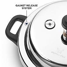 GASKET RELEASE SYSTEM