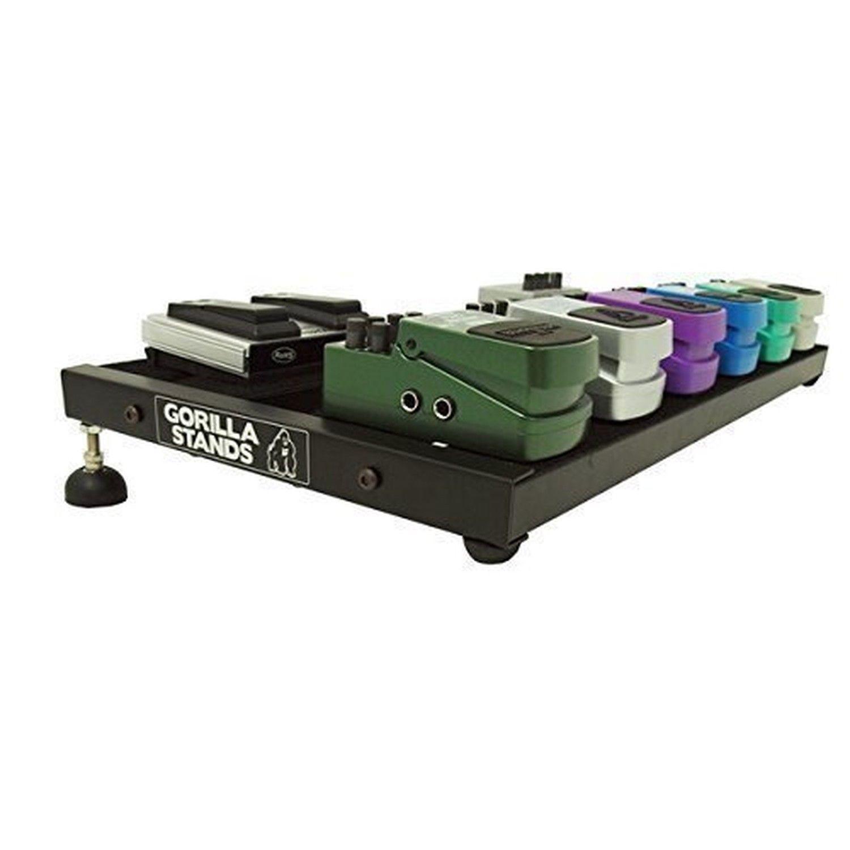 gorilla universal guitar effect pedal board organizer mount stand holder base. Black Bedroom Furniture Sets. Home Design Ideas