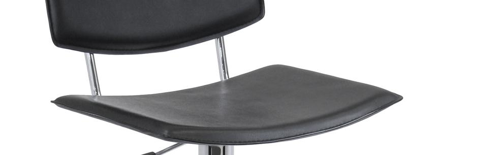 Winsome Wood Spectrum Full Back Adjustable Airlift Stool
