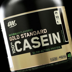 optimum nutrition 100% natural casein