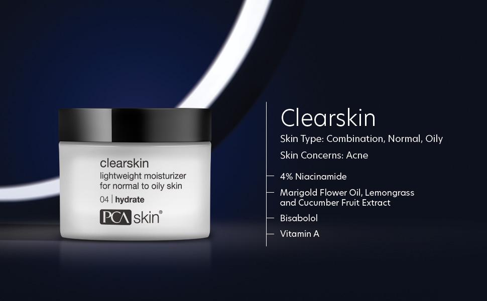 pca clearskin moisturizer, acne moisturizer, daily moisturizer, pca skin daily moisturizer