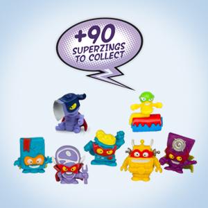 Superzings - Serie 3 - Blíster 10 figuras (1 figura dorada y 9 ...