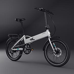 LEGEND EBIKES Monza 36V8Ah Bicicleta Eléctrica Plegable, Unisex ...