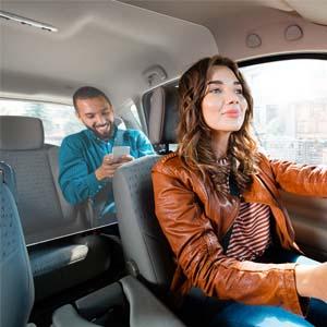 Mampara de Protección | Material PET | Transparente | Modelo Driver | Indicado para Taxis | Fácil Montaje | Sujeción con Bridas | 3 mm de Grosor | 108 X 45 cm: Amazon.es: Oficina y papelería