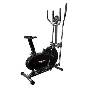 Moma Bikes - Bicicleta ELIPTICA con Volante de 5kg y pulsómetro ...