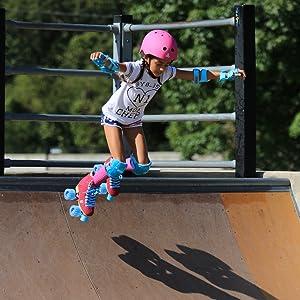 CG Carlin at the skate park