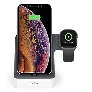 Belkin Powerhouse Charge Dock for Apple Watch + iPhone
