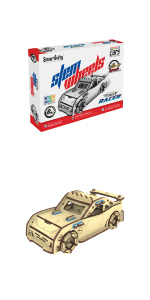 rally racer, car kit, car toy, stem toy