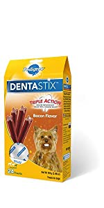 DentaStix, Bacon, Dog, Treats, Oral Care, Treats, Reduces Tartar and plaque, freshens breath