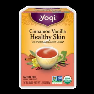 Yogi Tea, Cinnamon Vanilla Healthy Skin
