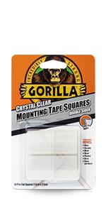 Gorilla Montage Tape Vierkanten