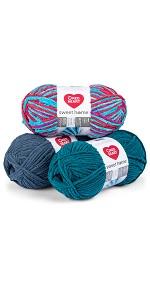 red heart yarn, yarn, cotton yarn, baby yarn, baby blanket yarn