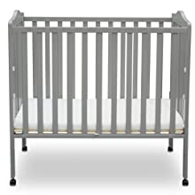 delta children portable folding crib nursery small travel