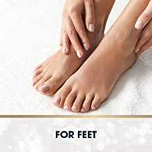 Foot cream to soften feet overnight.