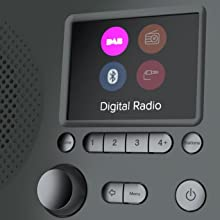 Pure Elan BT3 Digitalradio Wecker Küchentimer Detail 4
