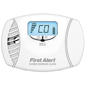 First Alert CO615 Dual-Power Carbon Monoxide Plug-In Alarm