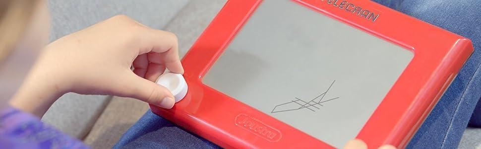 Télécran Original Joustra - Ardoise magique - Activité créative enfant