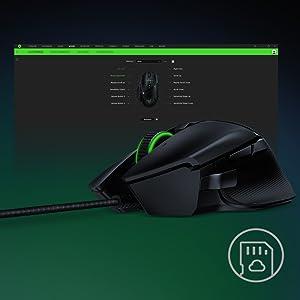 Juego Cable de ratón Sensor óptico FPS Esport Chroma Iluminación LED Mano derecha USB Juego mecánico