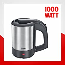 PRESTIGE PKTSS 0.5 LITER 1000W ELECTRIC KETTLE