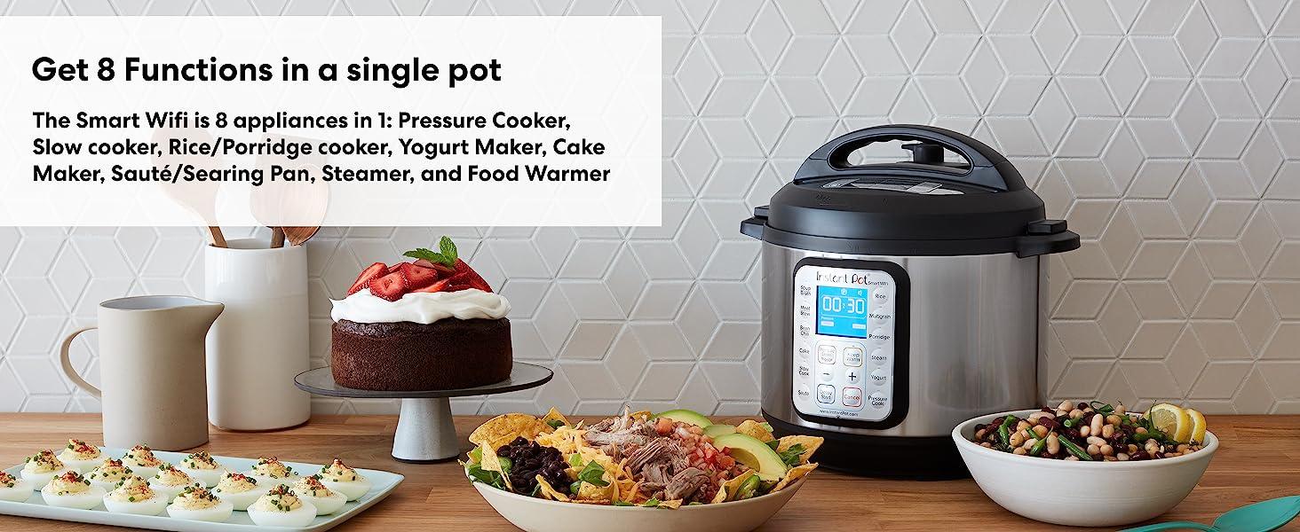 Instant Pot, Instapot, multicooker, pressure cooker, slow cooker, rice cooker
