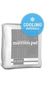 rv cooling mattress pad