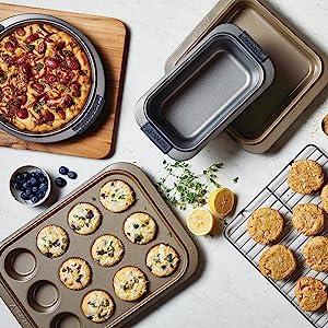bakeware, baking pan, cake pan, nonstick baking pan