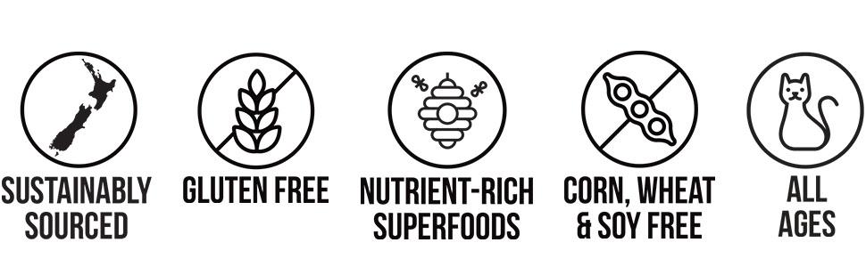 New Zealand Pet Food, Cat Food, Freeze Dried Cat Food, MEOW