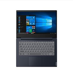 "Lenovo IdeaPad S340 Notebook, Display 14"" Full HD, Intel Core i5-8265U, 256GB SSD, RAM 8GB, Scheda grafica GeForce MX 230, Windows 10, Blu Abisso"