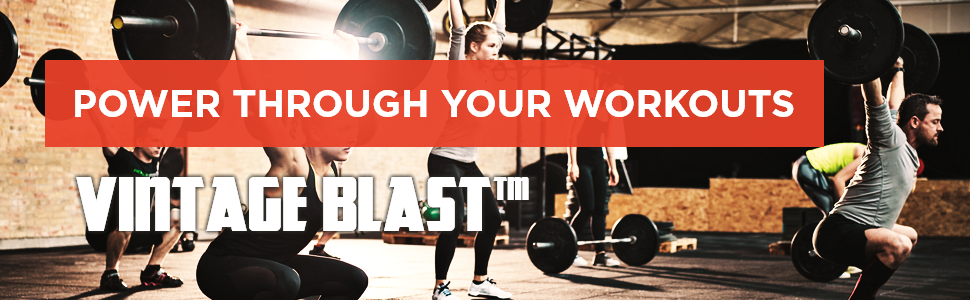 Old School Labs Vintage Blast, Power Through your Workouts