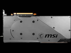 MSI 5700 GAMING Backplate