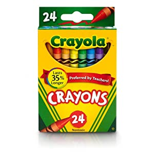 Crayola - Durable, Long-Lasting Crayons