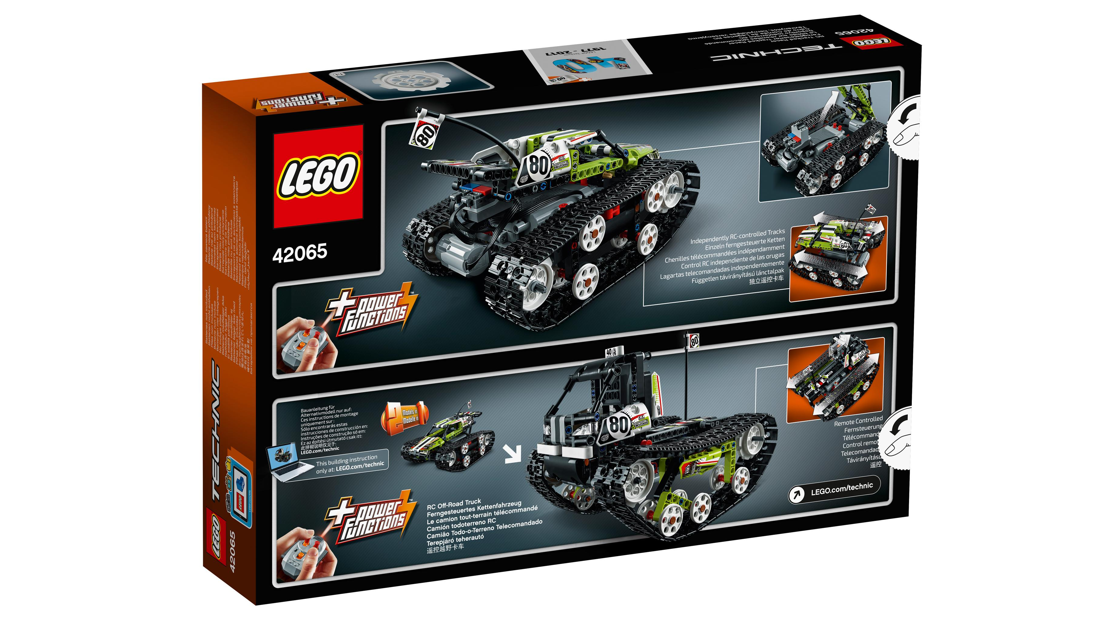 lego technic 42065 ferngesteuerter tracked racer. Black Bedroom Furniture Sets. Home Design Ideas