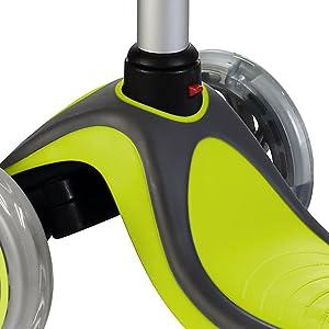 t-bar handlebar button folding removable adjustable brake brakes grip grips school iscoot isporter