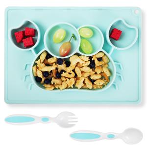 Plate & Spoon & Fork