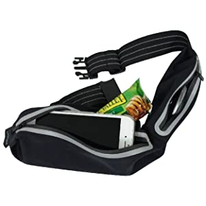 Running Belt Jog Waist Pack Slim Low Profile Compact Design Perfect No Bounce Fanny Pack for Phone