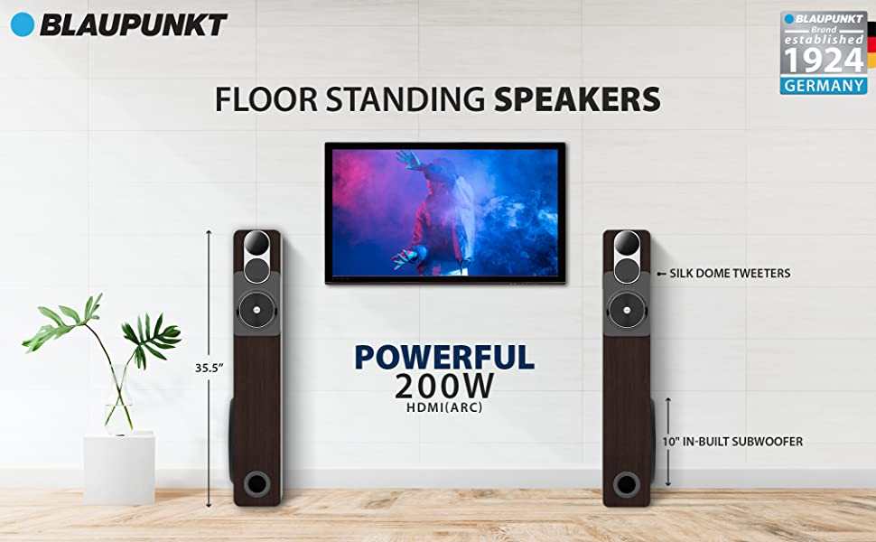 TS200, tower speakers, new launch