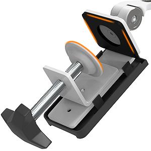 11 Zoll Tablets//Smartphones M/&G Techno Tablet Tischst/änder Halterung Geeignet f/ür Tisch Bett 360/° drehbar mit Klemm-Schwenkhalterung f/ür Alle 4,7 K/üche und B/üro