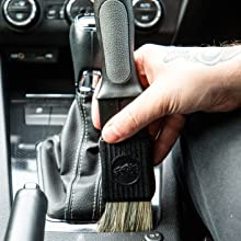 Dash & Trim Interior Detailing Adjustable Brush
