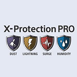 X-Protection Pro provides long TV life