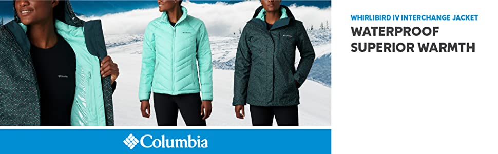 Columbia Women's Whirlibird IV Interchange Winter 3-in-1 jacket
