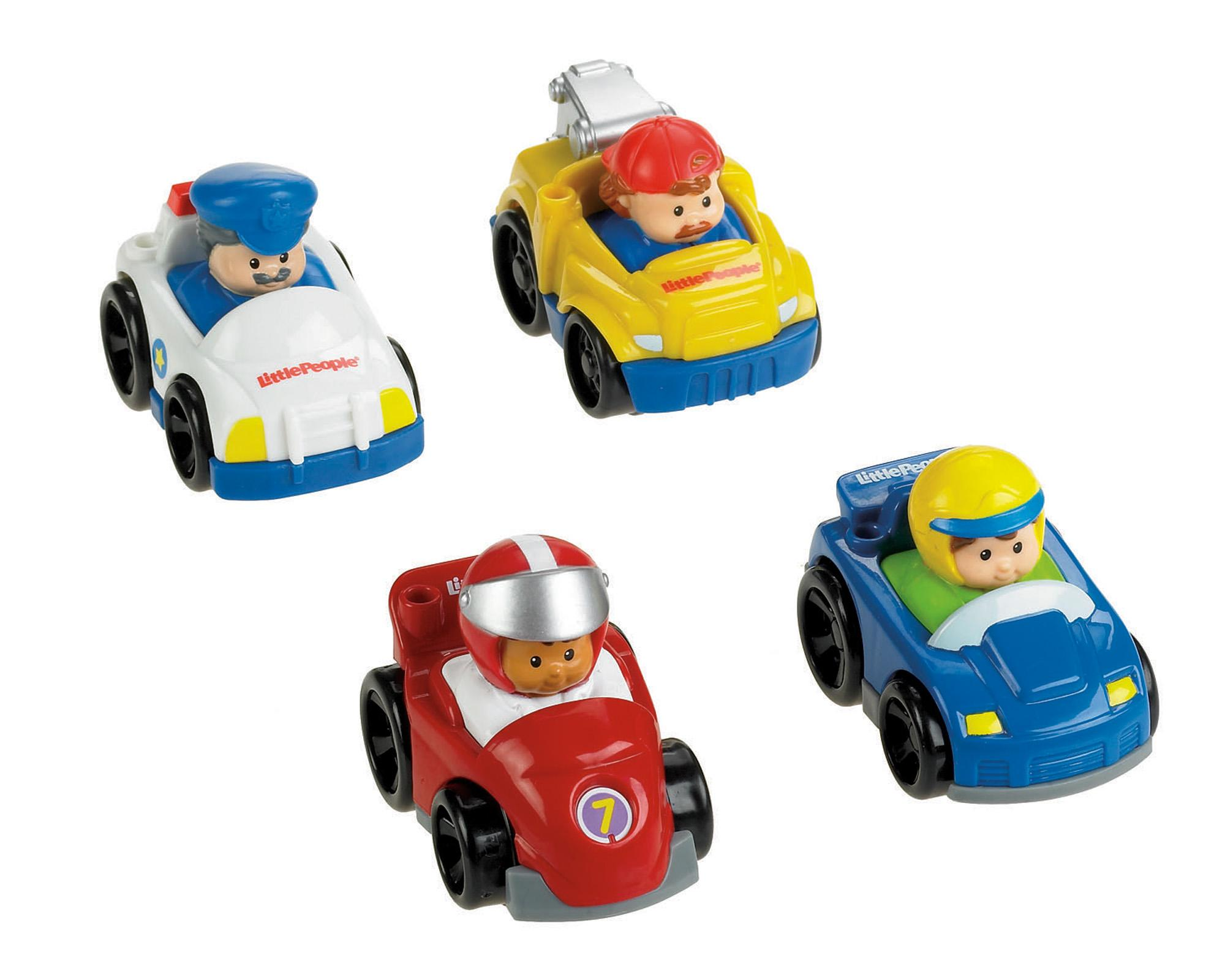 Amazon.com: Fisher-Price Little People Wheelies All About Trucks ...