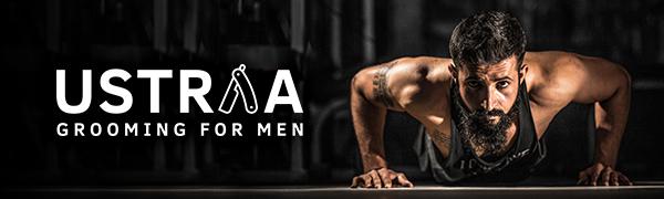Ustraa, grooming for men, beard growth oil, beard growth serum, smooth beard, beard shine,beard hair