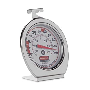Easy-to-Read Dial Clearly Displays Temperature