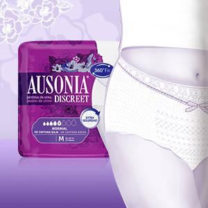 Ausonia Discreet Plus Braguitas Pants para Pérdidas de Orina