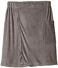 mens towel wrap, terry spa wrap, towel elastic, white velour bath towels