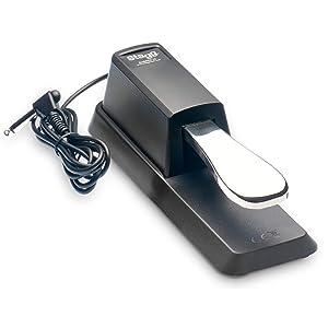 Stagg 21203 Pedal de resonancia para teclados electrónicos
