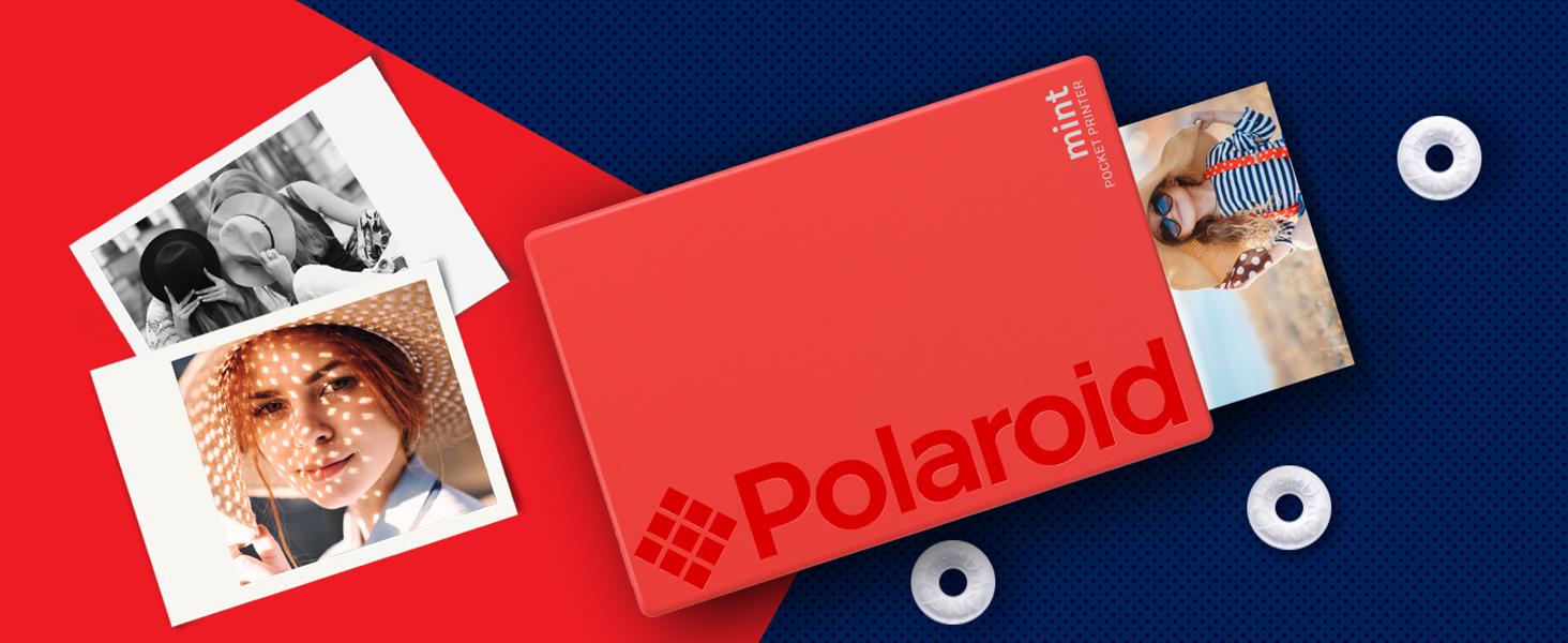 541b82b05f Amazon.com   Polaroid Mint Pocket Printer W  Zink Zero Ink ...